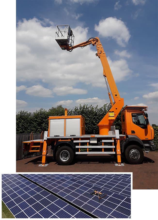 Agri-SolarClean | Industriële reiniging zonnepanelen