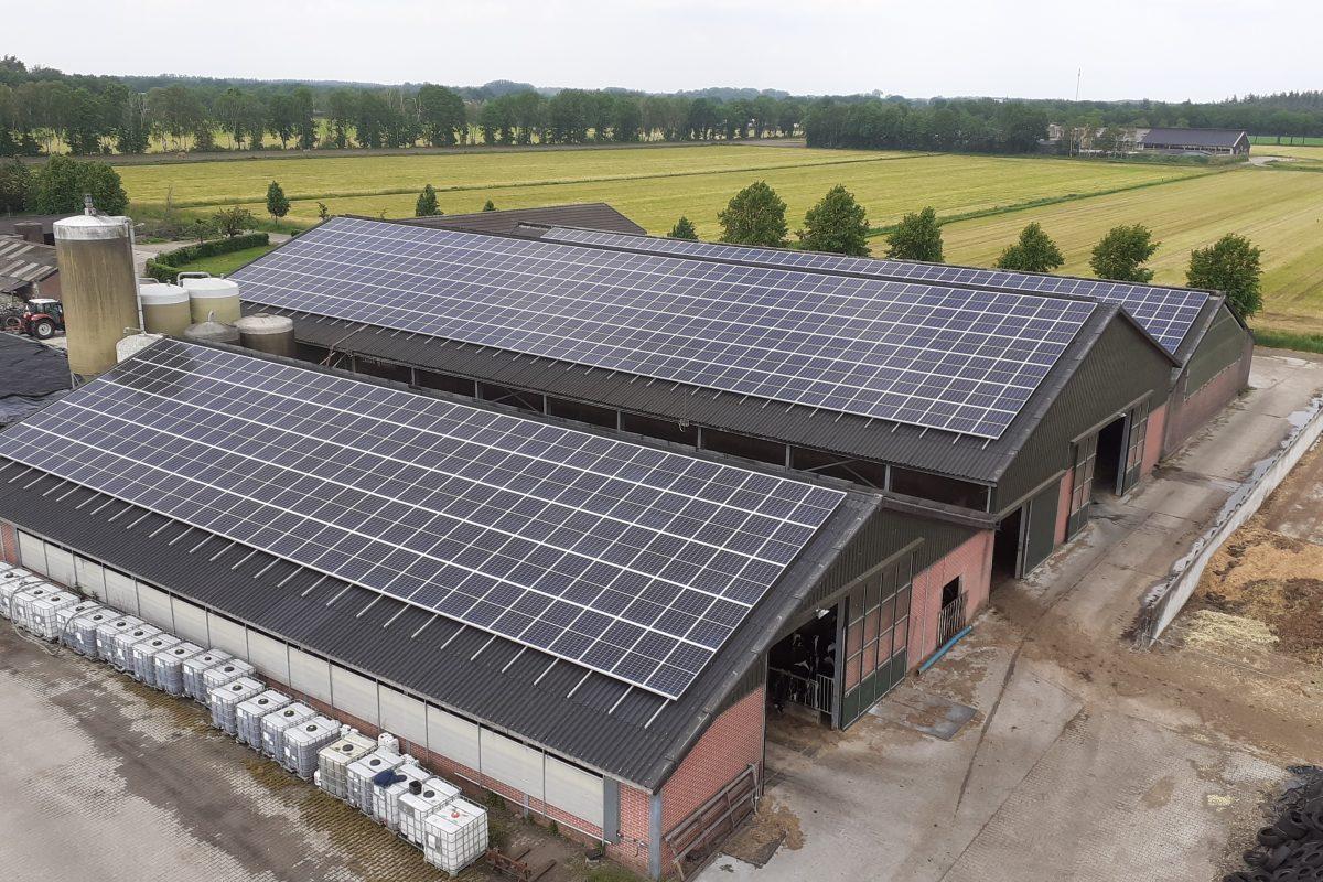 MTS Schellekens Valkenswaard / 820 zonnepanelen